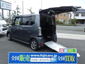 ホンダ N-BOX+カスタム G スローパー 車いす仕様車 SDナビ バックカメラ ETC