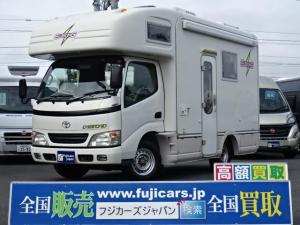 トヨタ カムロード デルタリンク エレキング ルーフエアコン 発電機 ナビ