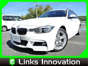 BMW 3シリーズ 318iツーリング Mスポーツ 禁煙車 LEDヘッドライト 衝突軽減ブレーキ シートヒーター 車線逸脱警告   パワーシート パワーバックドア 純正ナビ バックカメラ ETC 純正18インチアルミホイール