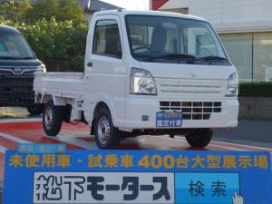 スズキ キャリイトラック KC/5MT/2WD/エアコン パワステ無/届出済未使用車
