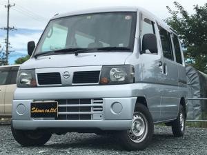 日産 クリッパーバン GL パワステ  エアコン テレビ ナビ フル装備 オートマ車