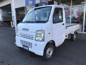 スズキ キャリイトラック KU 4WD AC MT 軽トラック マニュアル車 ホワイト