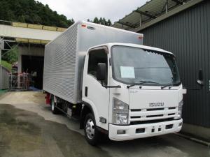 いすゞ エルフトラック  109/ 4WD ワイド ロング アルミバン 積載2t キーレス 電動格納ミラー バックカメラ 荷台内寸447×207