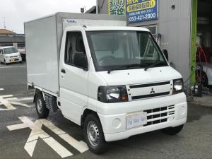 三菱 ミニキャブトラック  冷凍冷蔵車!-5℃設定!保温28℃から90℃