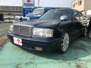 トヨタ クラウン ロイヤルサルーンG AW オーディオ付 クルコン AC AT ローダウン 社外アルミ