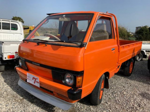 日産 バネットトラック  トラック 3名乗り オレンジ