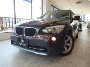BMW X1 xDrive 20i フルタイム4WD 本革シート ルーフレール 純正17AW 純正オーディオ ETC スマートキー プッシュスタート HID
