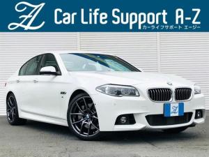 BMW 5シリーズ 535i Mスポーツ 純正OP20AW 黒革 LED