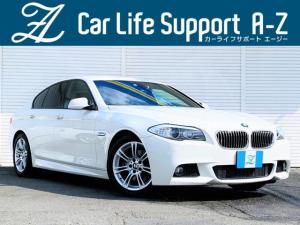 BMW 5シリーズ 528i Mスポーツパッケージ 左ハンドル 禁煙車 黒革シ-ト シ-トヒ-ター