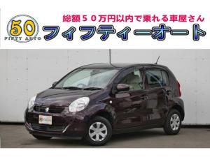 トヨタ パッソ X ユルリ 一年保証 スマートキー 禁煙車 CDデッキ ETC