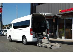 日産 NV350キャラバンバン 福祉車両 車いす2基10人乗 バックカメラ 全国1年保証
