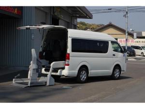 トヨタ ハイエースバン 福祉車両 リフト 車いす2基+8名ナビBカメラ 全国1年保証