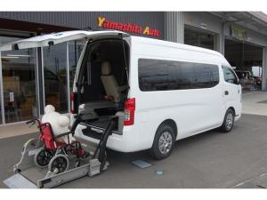 日産 NV350キャラバンバン 福祉車両 リフト 車いす2名+8名 Bカメラ 全国1年保証