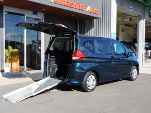 ホンダ フリード+  福祉車両 スロープ 車椅子1基積5名乗車 ナビ 全国1年保証
