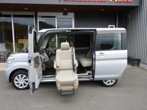ダイハツ タント  福祉車両 助手席リフトアップシート ETC 全国1年保証
