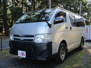 トヨタ ハイエースバン ロングDX SDナビ地デジTV ETC 社外ホイール