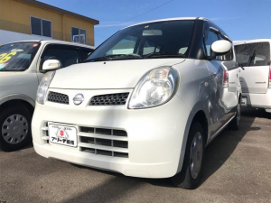 日産 モコ E ナビ 軽自動車 ETC パール AT 保証付 AC