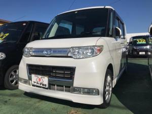 ダイハツ タント カスタムRS 軽自動車 ホワイト CVT ターボ 保証付
