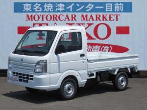 スズキ キャリイトラック KC エアコンパワステ 2WD 5速マニュアル メーカー保証継承付届出済未使用車