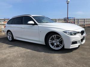 BMW 3シリーズ 320dツーリング Mスポーツ 純正ナビ Bカメラ 黒革シート メモリ付きPシート シートH インテリジェントS レーンA Pバックドア クルーズC パドルシフト Pセンサー Aストップ スマートキー Pスタート ETC