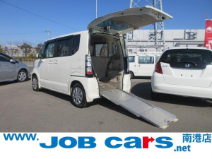 ホンダ N-BOX+ G車いす移動車 スローパー 電動ウィンチ ワンオーナー