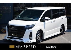トヨタ ノア Si 7人乗 ZEUS新車カスタムコンプリートカー!エアロ(F/S/R)・グリル・FT・アイライン・メッキピラー・4本出マフラー・車高調・19インチAW・アルパインナビ・ETC・バックカメラ。両側電動付。
