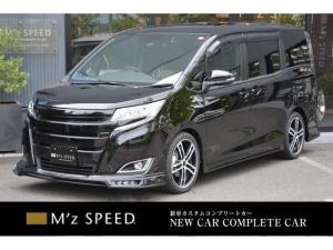 トヨタ ノア X 7人乗 ZEUS新車カスタムコンプリートカー!エアロ(F/S/R)・グリル・FT・アイライン・4本出マフラー・ダウンサス・18インチAW・アルパインナビ・ETC・バックカメラ。両側電動付。