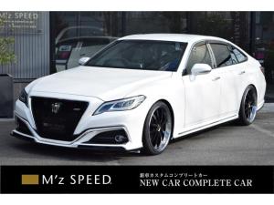 トヨタ クラウンハイブリッド RSアドバンス ZEUS新車カスタムコンプリートカー