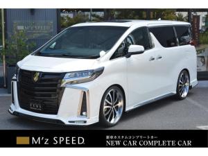 トヨタ アルファード 2.5S タイプゴールド ZEUS新車カスタムコンプリートカー!エアロ・F/S/R・グリル・FT・車高調・22インチAW・マフラー・ピラー・ディスプレイオーディオ・ETC・バックカメラ・ツインムーンルーフ付