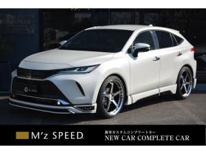 トヨタ ハリアー Z ZEUS新車カスタムコンプリートカー・エアロ3点・ABSグリル・ABSリアゲートスポイラー・ピラー・車高調・22インチ・チタンマフラー・パノラミックビュー