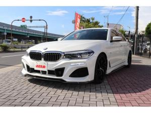 BMW 5シリーズ 523d ラグジュアリー 523dラグジュアリーBEAMコンプリートカー/ブラックレザーシート/全席シートヒーター/フルセグ/BEAMフルエアロ/BEAM20インチアルミ/BEAM4本出しマフラー/ローダウン/360℃カメラ