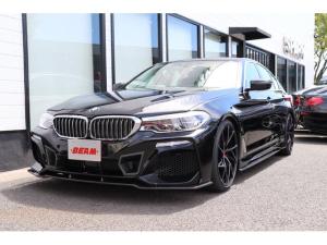 BMW 5シリーズ 523d ラグジュアリーBEAMコンプリートカーワンオナ黒革