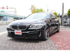 BMW 5シリーズ 528iラグジュアリーBEAMコンプリートカー黒革LED