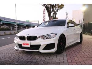 BMW 4シリーズ 420iグランクーペ ラグジュアリー BEAMコンプリートカー ブラックレザー ACC 地デジ バックカメラ 前後低ダストブレーキ 前後2カメラドラレコ