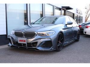 BMW 5シリーズ 530iラグジュアリー BEAMコンプリートカー/ブラックレザー/ハーマンカードン/HDDナビ/フルセグ/360度カメラ/全席シートヒーター/BEAMフルエアロ/BEAM4本出しマフラー/BEAM20インチブラックパルス