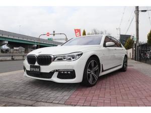 BMW 7シリーズ 750i Mスポーツ 正規ディーラー車/レーザーライト/黒革シート/サンルーフ/フロントベンチレーション&マッサージシート/リモートパーキング/全周囲カメラ/アクティブクルコン/レーンアシスト/ワイヤレス充電/