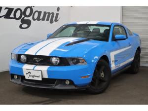 フォード マスタング V8 GT プレミアム 6速MT レーシングストライプ 新車並行 社外ポータブルナビ ETC クルーズコントロール 黒革パワーシート シートヒーター TV 18インチAW/