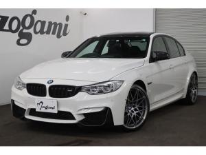 BMW M3 M3セダン コンペティション 純正HDDナビ フルセグTV 前後ドライブレコーダー パドルシフト 専用革Mスポーツシート カーボンインテリアトリム 360カメラ 1オーナー シートヒーター 純正20インチAW LEDヘッドライト