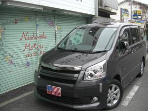 トヨタ ノア S 両側パワースライド・サイドリフトアップシート・DVDナビ・TV