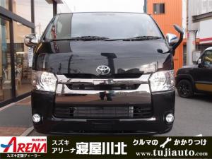 トヨタ ハイエースバン スーパーGL ダークプライム 4WDセーフティセンス両側電動