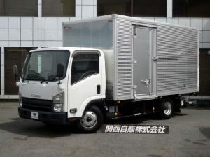 いすゞ エルフトラック ワイドロングアルミバンPゲート 2.95t NOX適合