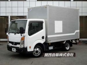 日産 アトラストラック アルミバン 1.25t 4WD NOX適合