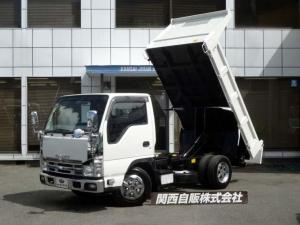 いすゞ エルフトラック 強化フルフラットローダンプ 3t NOX適合