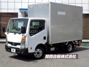 日産 アトラストラック  アルミバン 1.2t 4WD NOX適合