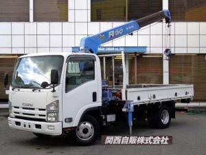 いすゞ エルフトラック  4段クレーン ラジコン 3t NOX適合