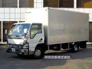 いすゞ エルフトラック  超ロングアルミバン 2t NOX適合