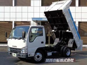 いすゞ エルフトラック  フルフラットロー強化ダンプ 3t NOX適合