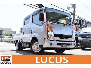 日産 アトラストラック WキャブフルスーパーローDX Wキャブ PS PW 5MT 積載1250kg 新免許OK総重量3.5t未満