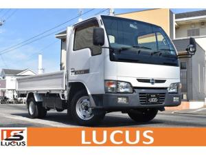 日産 アトラストラック ロングDX 平ボディ PS PW 5MT ETC 積載1500Kg 弊社ユーザー様下取車