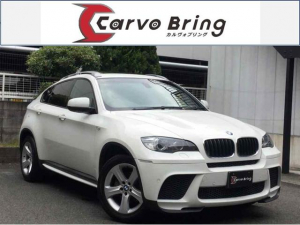 BMW X6 xDrive 35i Mパフォーマンス 黒革HDDナビ 8AT